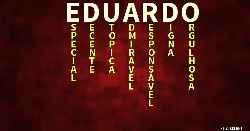 significado do nome Eduardo