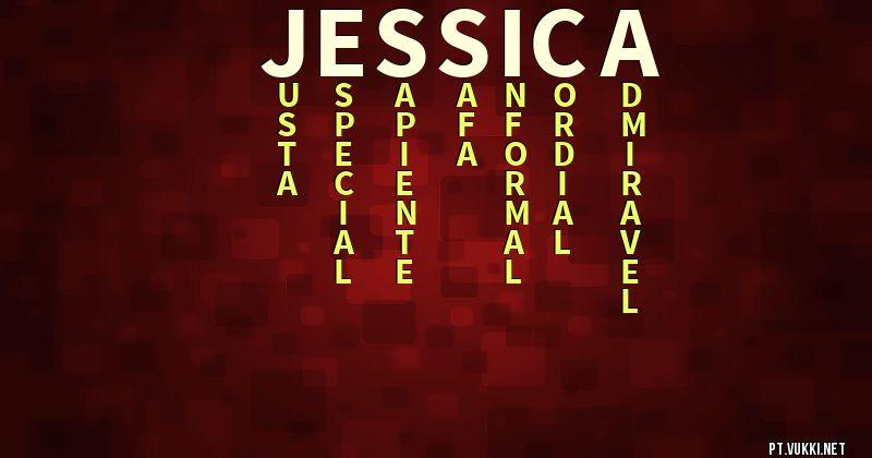 significado do nome Jessica